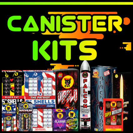 Shop fireworks canister shell at the largest selection in American for all shell kits.