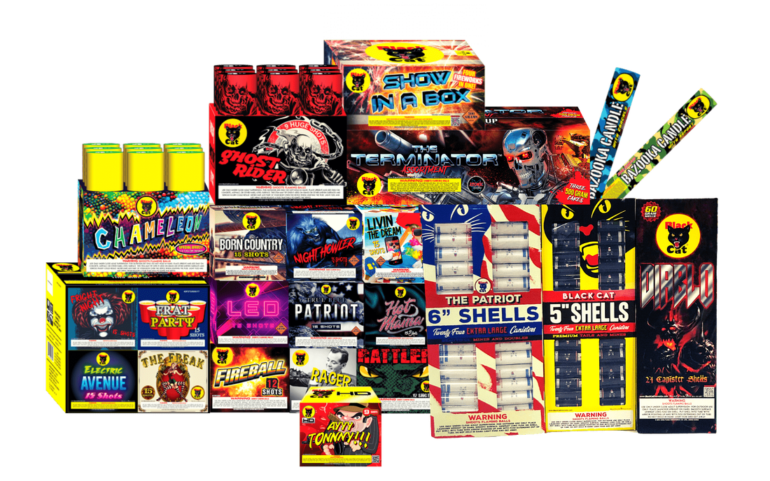 Shop fireworks by the bundle and save extra money. The cheapest fireworks prices in Houston!