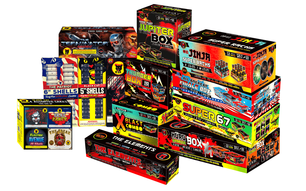 Buy fireworks online by the case and save. Get the absolute best for cheaper. Houston cheap fireworks prices with box combos.